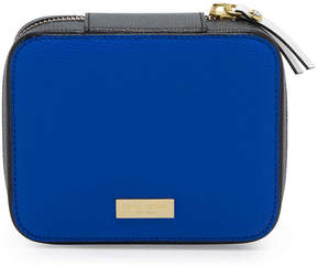 Henri Bendel West 57Th Color Blocked Travel Jewelry Case