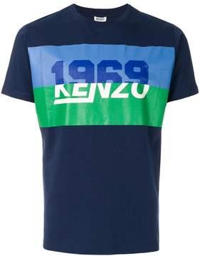 Kenzo 1969 retro logo T-shirt