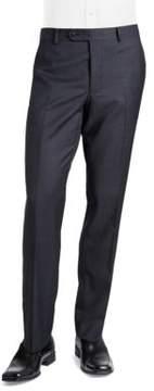 Black & Brown Black Brown Jack Fit Slim Textured Straight-Leg Dress Pants