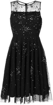 P.A.R.O.S.H. sheer embellished dress