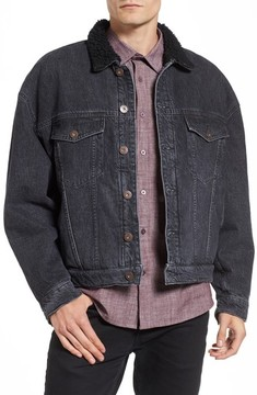 Hudson Men's Denim Trucker Jacket