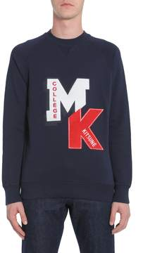 Kitsune Sweatshirt College Patch