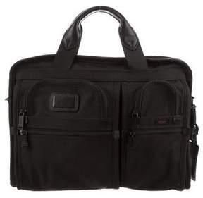 Tumi Canvas Laptop Shoulder Bag