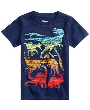 Epic Threads Little Boys Dino-Print T-Shirt, Created for Macy's