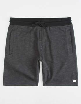 Billabong Balance Black Mens Sweat Shorts