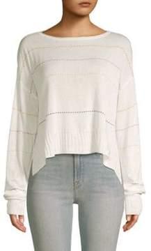 Peace Love World Samantha Boatneck Sweater