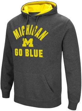 Colosseum Men's Campus Heritage Michigan Wolverines Pullover Hoodie