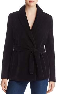 Bagatelle Velvet Wrap Jacket