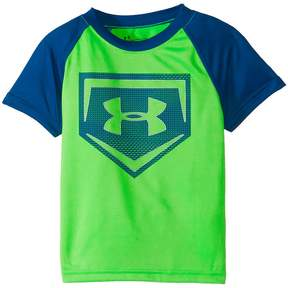 Under Armour Kids Metallic Sync Homeplate Short Sleeve Tee Boy's T Shirt