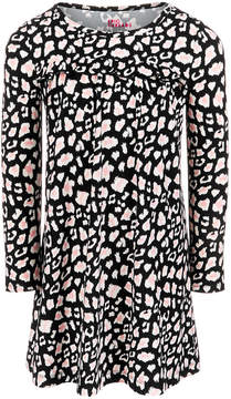 Epic Threads Little Girls Ruffle-Trim Printed Dress, Created for Macy's