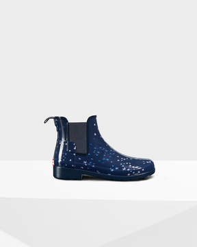 Hunter Women's Original Refined Constellation Print Chelsea Boots