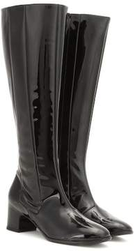 Balenciaga Patent leather knee-high boots
