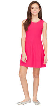 Milly MINIS OTTOMAN FIT AND FLARE DRESS