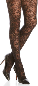 Emilio Cavallini 20 Denier Gothic Lace Tights