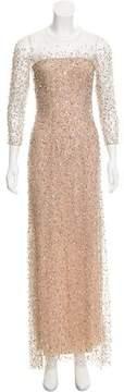 Jenny Packham 2015 Sequined Tulle Dress
