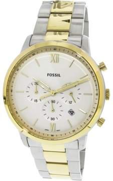 Fossil Men's Neutra Chronograph FS5385 Silver Stainless-Steel Japanese Quartz Fashion Watch