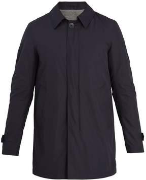 Herno Point-collar waterproof coat