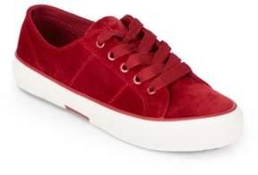 Lauren Ralph Lauren Jolie Velvet Sneakers