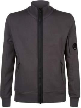 C.P. Company Funnel Neck Zip-Down Sweatshirt