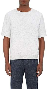 ATM Anthony Thomas Melillo Men's Marled Cotton Short-Sleeve Sweatshirt