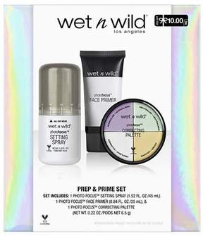 Wet n Wild Prep & Prime Set - 3 PC