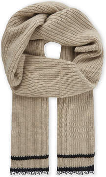 Zadig & Voltaire Lisa wool-blend ribbed scarf