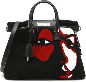 Maison Margiela Large 5ac Bag With Print