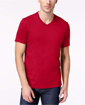 Club Room Men's Solid V-Neck T-Shirt, Created for Macy's