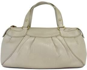 Cole Haan Beige Patterned Leather Bag