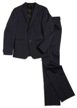 Michael Kors Boys Skinny-Fit Suit Jacket and Pleated Dress Pants