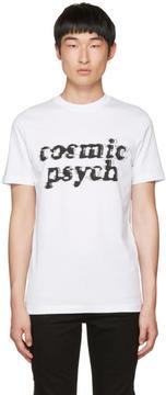McQ White Cosmic Psych T-Shirt