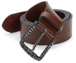 Diesel Slim Leather Belt