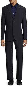 Michael Bastian Gray Label Men's Tartan Plaid 2BSV Wool Suit & Pants