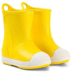 Crocs Yellow Bump It Boots