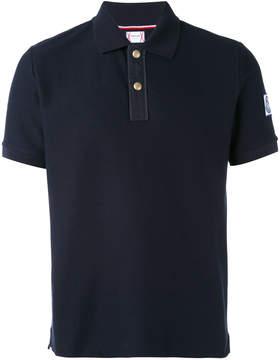 Moncler Gamme Bleu arm patch polo shirt