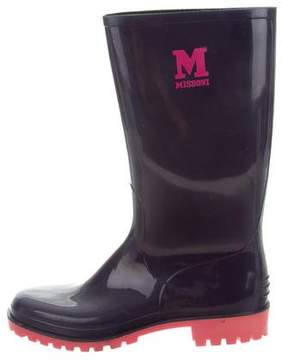 M Missoni Rubber RainBoots