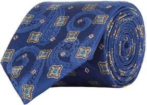 Eton Paisley Print Tie