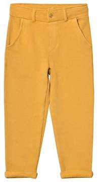 Emile et Ida Yellow Roll-Up Trousers