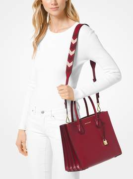 MICHAEL Michael Kors Tri-Color Leather Shoulder Strap