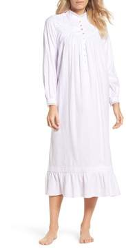 Eileen West Women's High Neck Cotton Nightgown