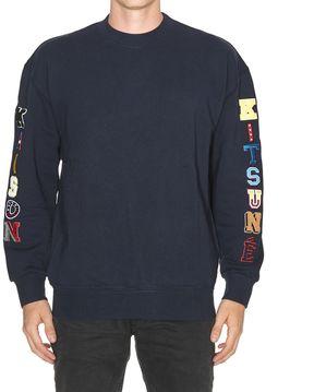 Kitsune Multi Patch Sweatshirt