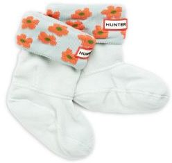 Hunter Girl's Floral Knit-Cuff Boot Socks