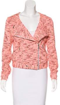 Vanessa Bruno Knit Moto Jacket