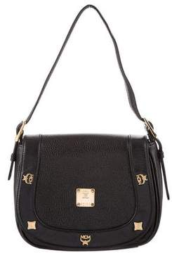 MCM Small Leather Handle Bag