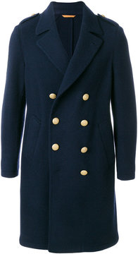 Lardini long double breasted coat