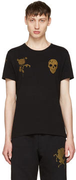 Alexander McQueen Black Bullion T-Shirt