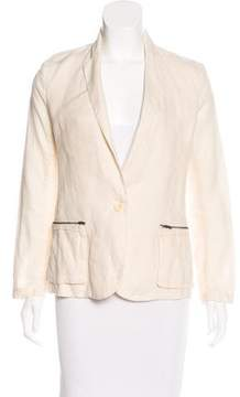Brochu Walker Long Sleeve Linen Blazer