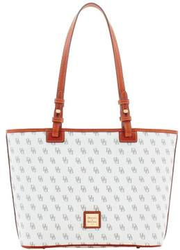 Dooney & Bourke Gretta Small Leisure Shopper Tote - BONE - STYLE