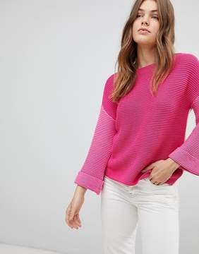 Esprit Color Block Knitted Sweater