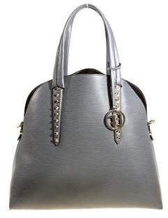 Trussardi Women's Grey Polyurethane Tote.